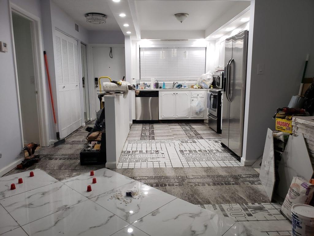 Floor Remodel - The Remodeling Doctor