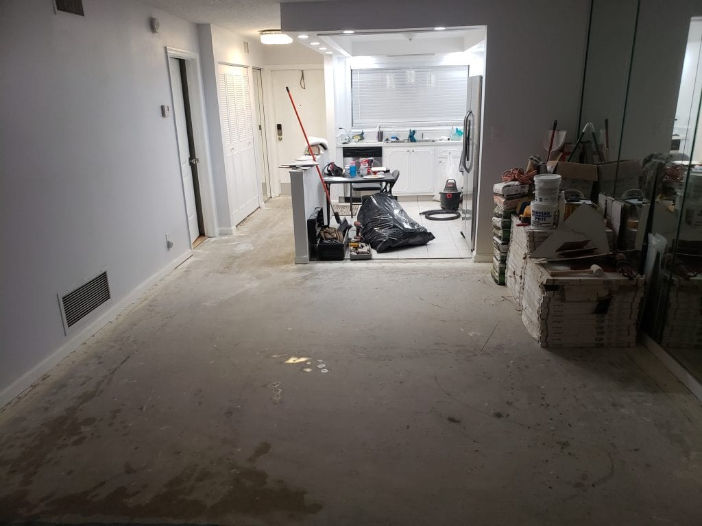 Floor Removal - The Remodeling Doctor