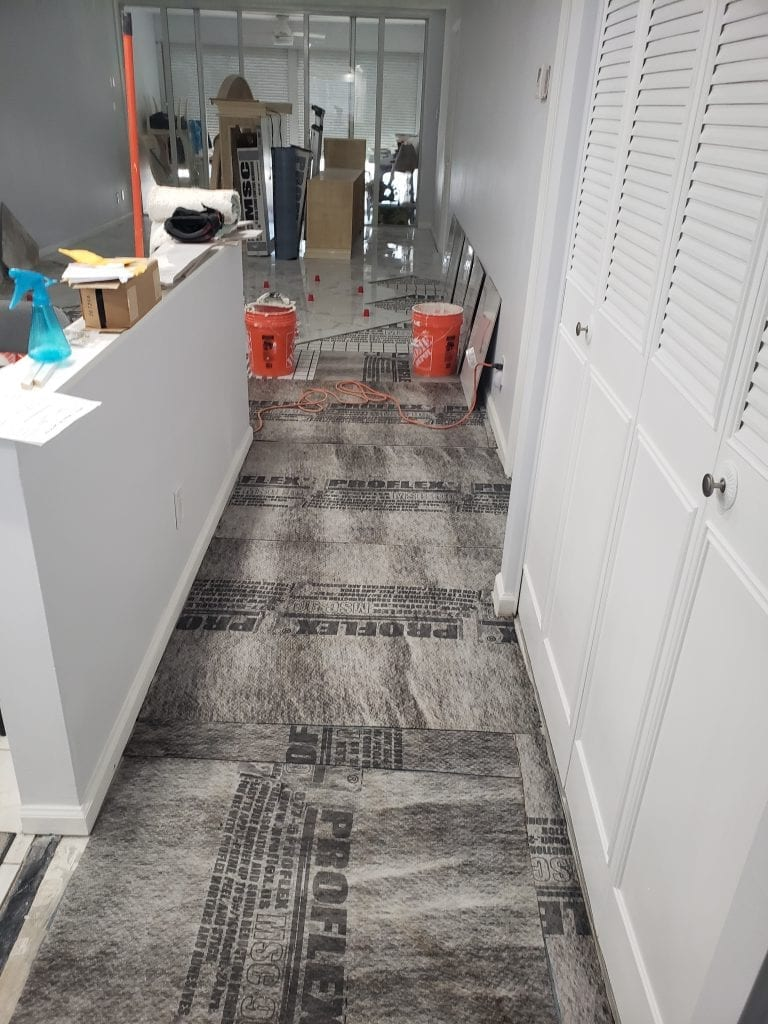 Foyer Sound Proofing - The Remodeling Doctor