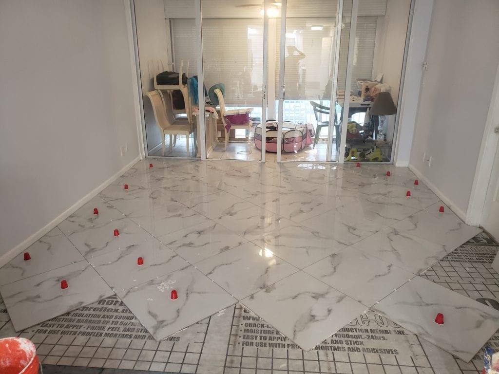 High End Tile Flooring - The Remodeling Doctor