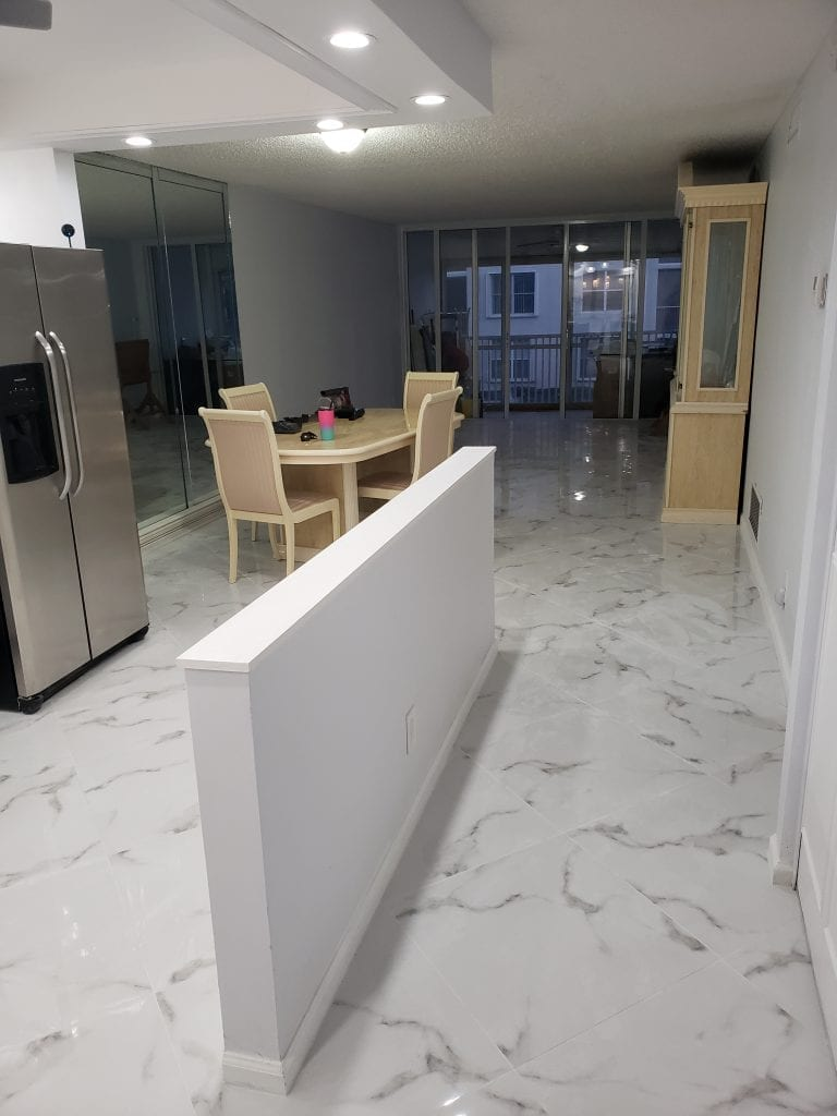 New Tile Flooring - The Remodeling Doctor